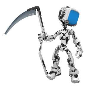 Blue Screen Robot, Scythe